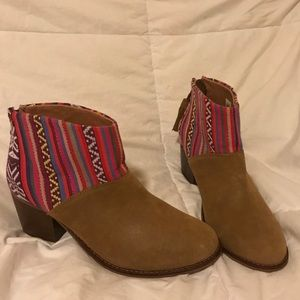 *RARE FIND* Toms Colorful Knit Boots